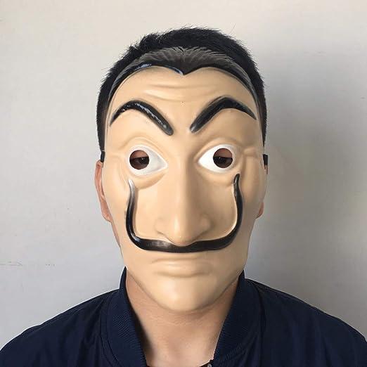KIMTAN Salvador Dalí Disfraz de la casa de Papel de la casa de ...