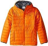 Columbia Big Boys' Powder Lite Puffer Jacket, Tangy Orange, Large