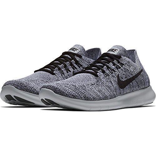 Platinum 2017 Nike nbsp;– Pure Black 101 running FREE Multicolore Flyknit de homme White Stealth RN nbsp;Chaussures r6xtq6