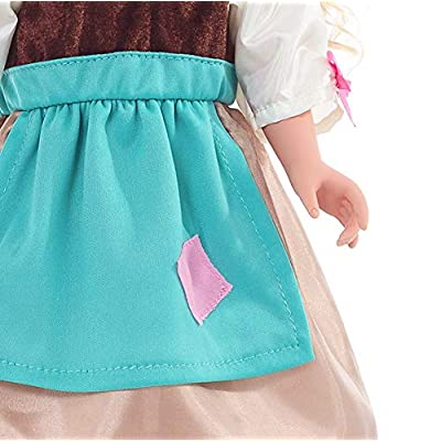 Little Adventures Cinderella Day Dress with Headband Princess Doll Dress: Toys & Games