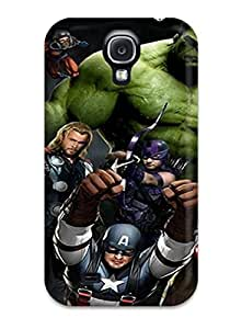 Tpu Case Cover Compatible For Galaxy S4/ Hot Case/ The Avengers 72