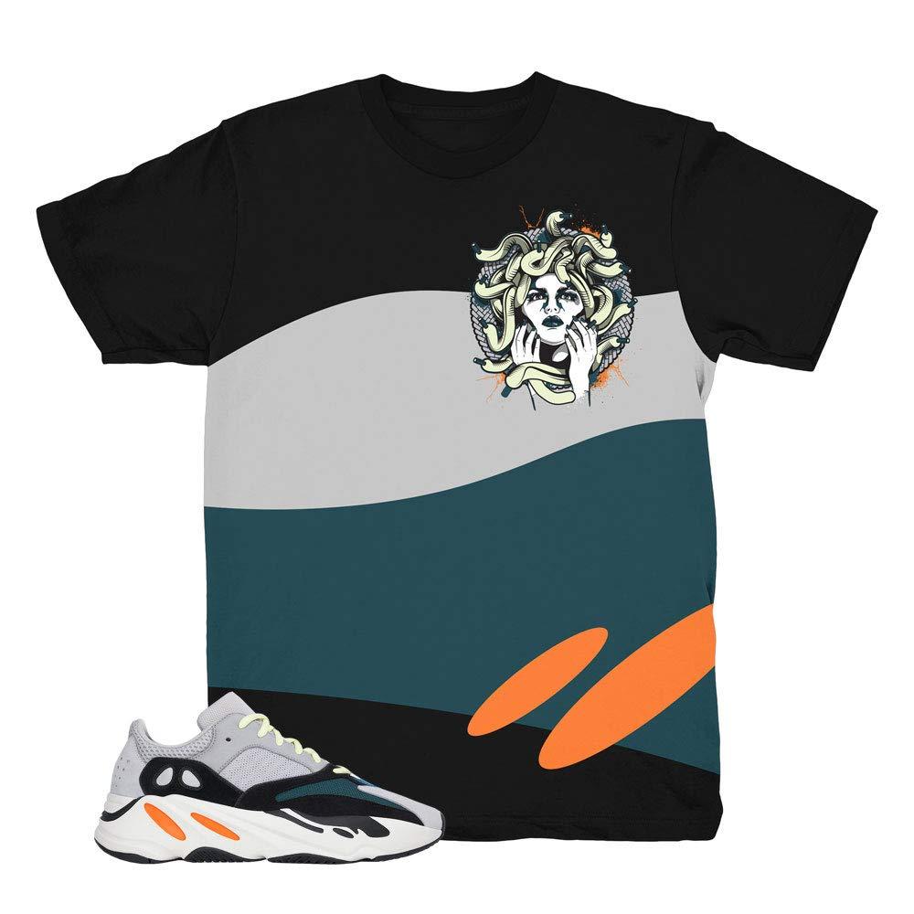 2008a182cc487 Yeezy 700 Wave Runner Medusa Black Shirt to Match Yeezy 700 Wave Runner  Sneakers