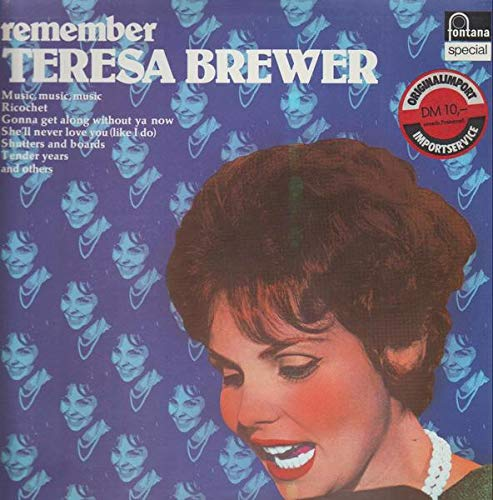 The Ballad Side of Teresa Brewer - Moments to Remember