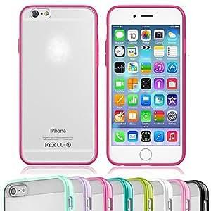 TL Cubierta Posterior - Color S¨®lido/Dise?o Especial/Otros - para iPhone 6 ( TPU/Pl¨¢stico/Gel de S¨ªlice )(Azul claro)