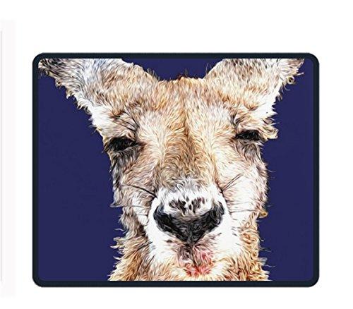 Skippy Kangaroo Rectangle Non-Slip Rubber Mousepad Custom Gaming Mouse Pad