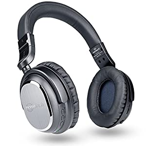 Naztech i9 Wireless Active Noise Cancelling Headphones with In-line Mic, Bluetooth 4.1, Upto 7 hrs Play Time for Smartphones, Tablets & Computers