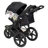 Baby Trend Range LX Jogger Stroller, Chrome