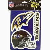 FOCO Baltimore Ravens 2009 6'' Magnet Sheet