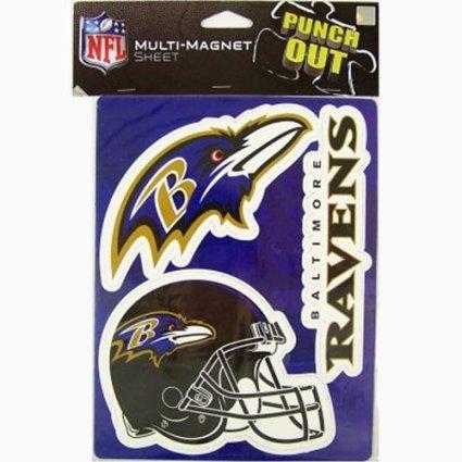 FOCO Baltimore Ravens 2009 6'' Magnet Sheet by FOCO