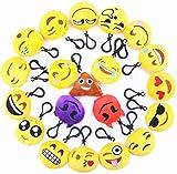 TECH-P Creative Life Emoji Mini Plush Pillows, Keychain...