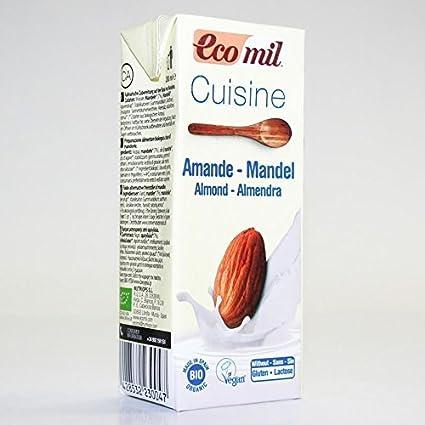 Ecomil | Cuisine - Almond Cream | 24 x 200ML: Amazon.es: Alimentación y bebidas