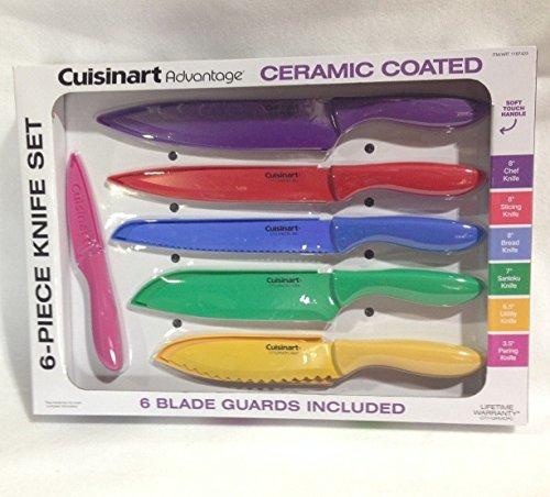 Cuisinart Advantage 12-Piece Knife Set Bright - 6 knives & 6 knife (Advantage Knife)