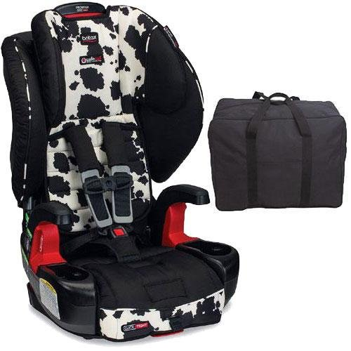 Britax - Frontier G1 1 ClickTight Harness-2-Booster Car Seat with Travel Bag - Cowmooflage