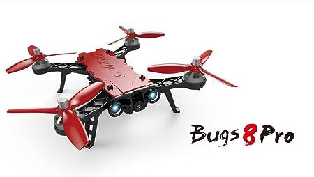 Faironly B8pro Gyro 4CH 5,8G 720 P RC - Dron de Carreras con ...