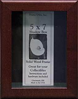 product image for Frame USA Shadow Box Showcase Series 5x7 Wood Frames (Cherry)