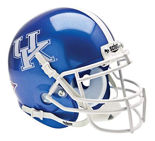 Schutt NCAA Kentucky Wildcats Mini Authentic XP Football Helmet, Blue