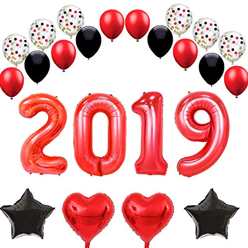 funprt 40 red 2019 balloons