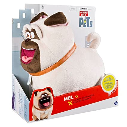 "SpinMaster Secret Life of Pets 12"" Plush Buddy Talking Mel"