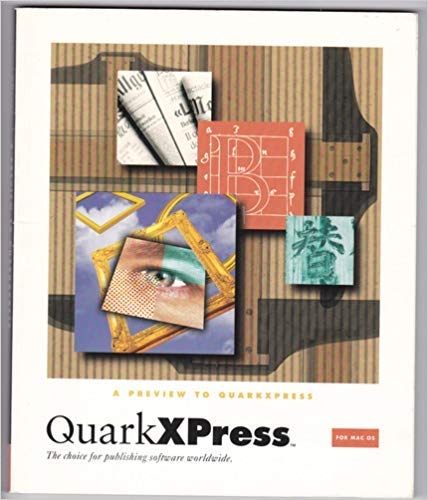 Used, A Preview to Quarkxpress for MAC OS: The Choice for for sale  Delivered anywhere in USA