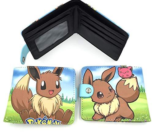 Pokemon Donna Di Unisex Uomo Wallet1 E Portafoglio Swvv Carte Pacchetto PYwq58Z