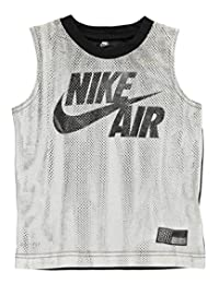 Nike Little Boys' Dri-Fit Sleeveless T-Shirt (Sizes 4 - 7) - black, 4