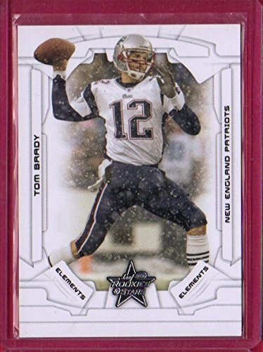 105 Tom - 2008 Leaf Rookies and Stars #105 Tom Brady ELE