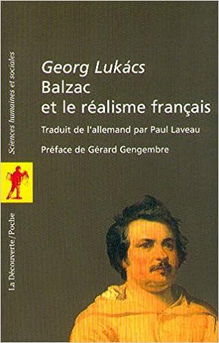 Livres gratuits Balzac et le réalisme français epub pdf