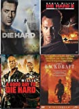 Fire, Explosions and More Fire - Bruce Willis is John McClane in Die Hard, Die Hard 2 & A Good Day to Die Hard along with Backdraft 4-Movie Bundle