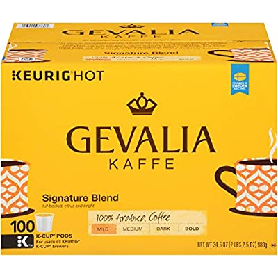 Gevalia Colombian Medium Roast Coffee Keurig K Cup Pods from Gevalia