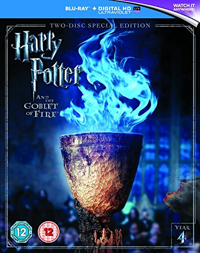 Import Goblet - Harry Potter and the Goblet of Fire (2016 Edition) [Includes Digital Download] [Blu-ray] [Region Free]