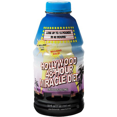 Hollywood 48-hour Miracle Diet (Pack of 2)