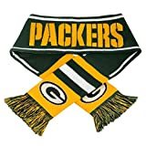 Green Bay Packers Official NFL Adult One Size Scarf by Forever Collectibles