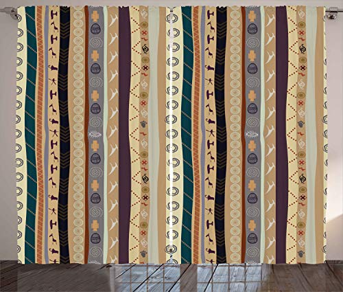 vintage pattern curtains - 6