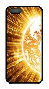 iPhone 5s Case, iPhone 5s Cases - Planetary Eruption Custom Design iPhone 5s Case Cover - Polycarbonate¨CBlack