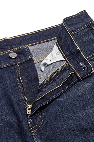 de 0021 STRETCH Vaqueros Recta RAYNE 502 Levi's Línea Azul REGULAR Oscuro TAPER 5n78Uqwg0