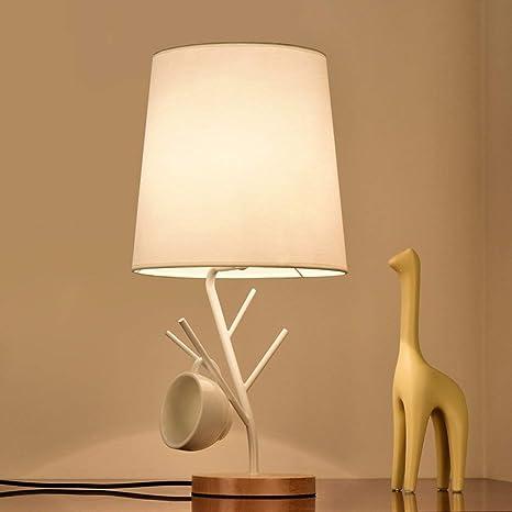 HAIYUGUAGAO Lámpara de mesa Rastrillo de árbol Lámpara de ...