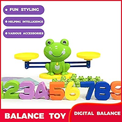 Elevin(TM)???????? Frog- Balance Game Scal e Early Education Weight Children's Intelligence Toys (Green): Toys & Games