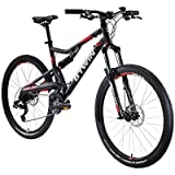 B'twin Rockrider 520 S Full Supension Mountain Bike - 27.5 Inches - Grey
