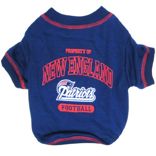 NEW ENGLAND PATRIOTS Dog T-Shirt, Medium. - Cutest Pet Tee Shirt for the real sporty pup