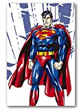 Agolong Diy Colorings Pictures Painting By Numbers Super Hero With Frame 40 * 50CM