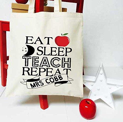 diseño de' de agradecimiento 'EAT profesor para apagado repetición nuevo diseño Cinnamon bolso de Bay aprendan las xWZfqW0aHw