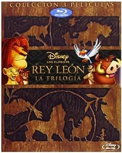 Pack Rey Leon Trilogy Bd [Blu-ray]