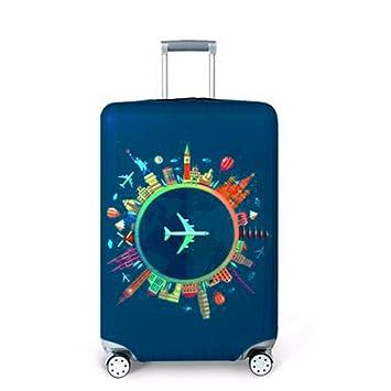 67b8a760e5 JIOLK スーツケースカバー キャリーカバー 伸縮素材 お荷物カバー 保護 盗難防止 防塵 おしゃれ
