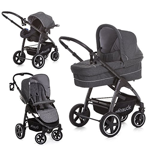 Hauck Soul Plus Trio Set Travel System, Beluga