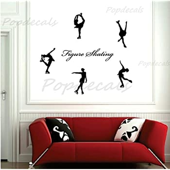Popdecals   Figure Skating   Nursery Wall Decals Tree Vinyl Wall Art Decor  Sticker Wall Stickers Part 41