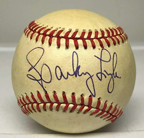 Sparky Lyle Autographed Ball - Single LOA Red Sox - JSA Certified - Autographed Baseballs