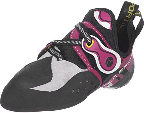 La Sportiva Solution W Zapatos de escalada rosa/blanco