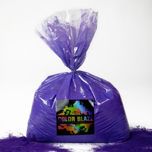 Color Powder Purple 25lbs -Ideal for Color Run Events, Holi Events, Youth Group Color Wars and more! Blue, Orange, Red, Green, Pink, Yellow and Teal Available