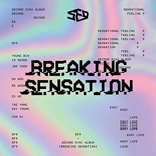 SF9 - Breaking Sensation (2nd Mini Album) CD+Photobook+Photocard