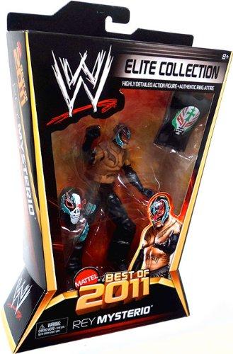 WWE Elite Collection Best of 2011 Rey Mysterio Figur